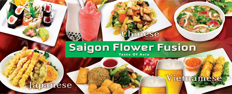 saigon flower menu